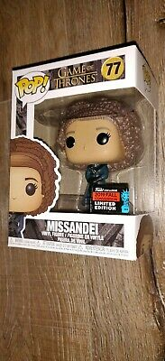 Funko Pop Vinyl NYCC 2019 TV GAME OF THRONES - MISSANDEI GOT #77 – Brand new