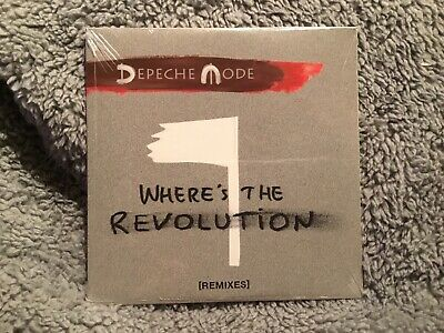 Depeche Mode - Where's the Revolution [remixes] CD *NEW & SEALED*