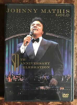 Johnny Mathis Gold 50th Anniversary Celebration Live Misty + Chances Are NEW DVD