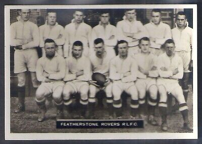 Ardath-Photocards C Yorks Football (Lf110)-#049- Rugby - Featherstone Rovers