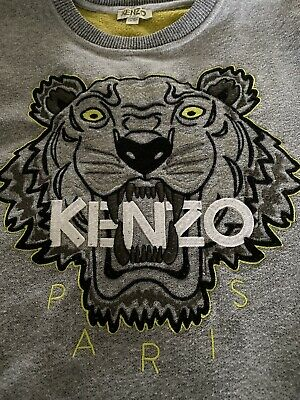 Boys KENZO Grey Sweatshirt Jumper age 12 years For Boys/girls