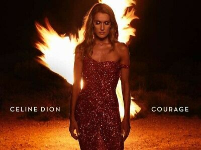 Celine Dion, Courage [New CD, 2019] + Free Shipping