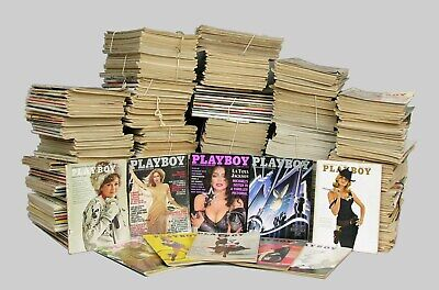 Playboy and Penthouse Magazine Collection with Special Editions 1980's-2016.