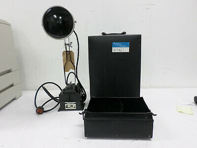 Vintage Hanovia Chemical & MFG Co RARE Working Medical Light Therapy Lamp