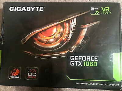 GIGABYTE NVIDIA GeForce GTX 1060 3GB GDDR5 Graphics Card (GVN1060WF2OC3GD)