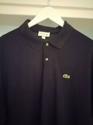 BIG REDUCTION Lacoste Mens Navy Classic Fit Polo, 3XL, Worn Once