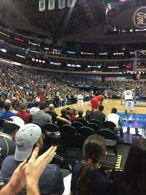 Dallas Mavericks v Chicago Bulls 1/06 Sec 101 Row DD Sts 1&2 w/Blue Pkg