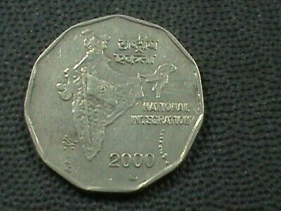 INDE 2 Rupees 2000 MM COMBINÉ .10 Centimes USA .29 INTERNATIONAL