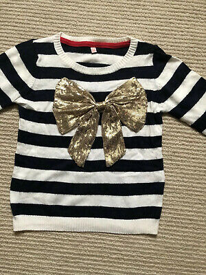 Marks and Spencer Girls Christmas Jumper Age 5-6