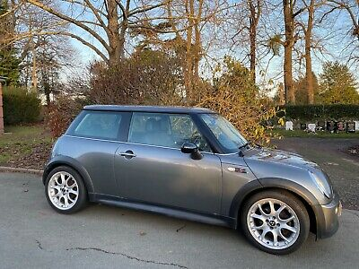 2003 Grey MINI Cooper S 1.6 Hatchback 3DR R53 MOT till May 2020 Petrol