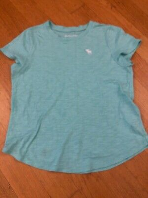 Girls Abercrombie & Fitch Cotton T-Shirt - Age 9-10 Yrs