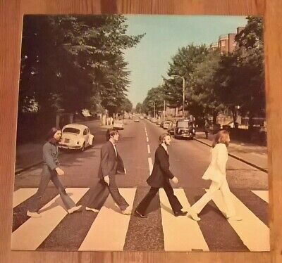 The Beatles ‎– Abbey Road Vinyl LP Album 33rpm 1969 Apple ‎PCS 7088 (See Notes)