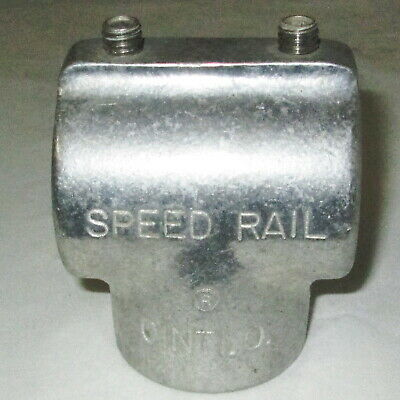 "Speed-Rail Cinti.O. Hollaender 5-7 Aluminum Tee Fitting 1.66"" Pipe"