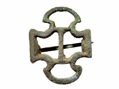 Amazing Romano-Celtic Open Work Bronze Fibulae+++Rare Type+++