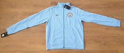 Manchester City Official Nike training top- Mens LargeNike Dri fit new with tags