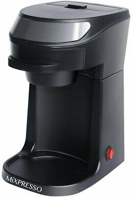 Mixpresso Single Serve Coffee Maker | Personal Cup Brewer | Drip Coffee Machine-