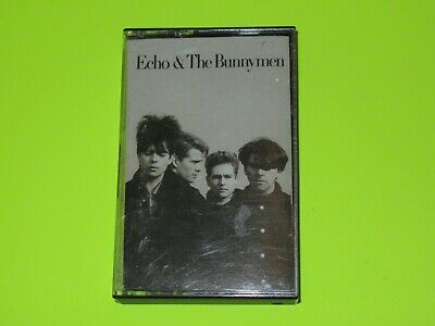 Echo And The Bunnymen Self Titled Cassette Tape