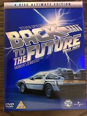 Back To The Future Trilogy ULTIMATE EDITION (DVD)
