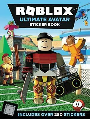 Roblox Ultimate Avatar Sticker Book, Paperback, Sticker book by Official Roblox