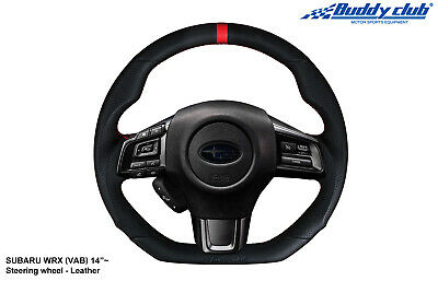 Buddy Club Racing Spec Steering Wheel 2015+ Subaru WRX/STI (Leather)