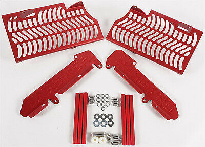 Unabiker Aluminum Front & Side Radiator Guards - Red HF450R7-R