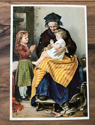 Vintage Trade Card Dr Jaynes Tonic Vermifuge J Richenbaugh Mexico PA