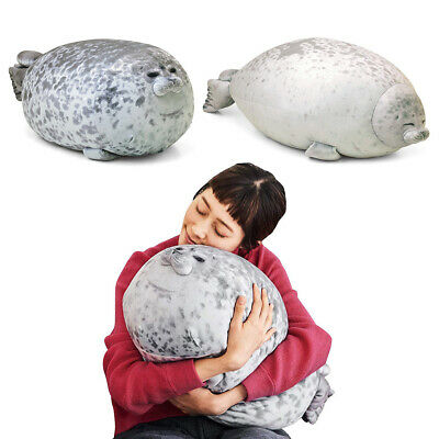 Cute Animal Seal Pillow Filled Plush Cotton Super Elastic Soft Toy Children Gift