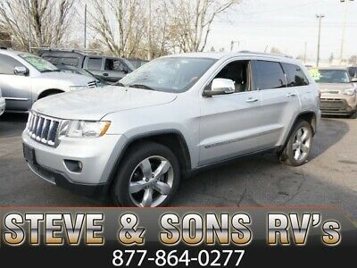 2012 Jeep Grand Cherokee Overland ilver Jeep Grand Cherokee with 93,761 Miles available now!