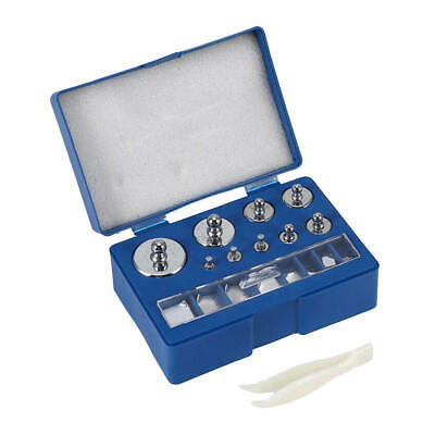 17pcs 10mg-100g Grams Precision Calibration Weight Digital Scale Weights Set