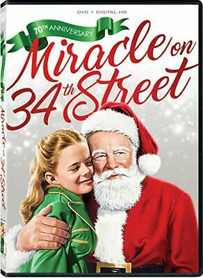 Miracle on 34th Street (DVD) 70th Anniversary NEW