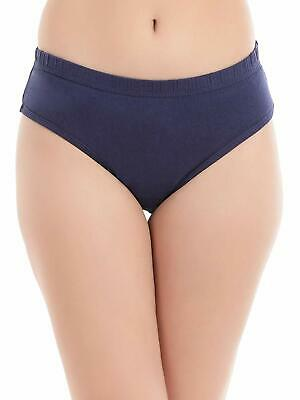 Women's Cotton High Waist Hipster Panty with Lace Panels at Sides Girls Panties