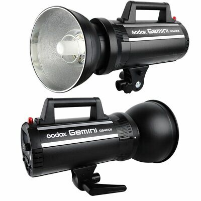 Godox Gemini GS400II 400W 2.4G Wireless Studio Strobe Flash Light Head 220V