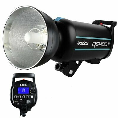 Godox QS400II 400W 2.4G Wireless X System Strobe Speedlite Flash Light Head 220V
