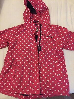 Girls Regatta raincoat waterproof coat age 9-10 years