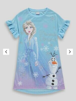 Girls Disney Frozen 2 Nightie Age 7 Years