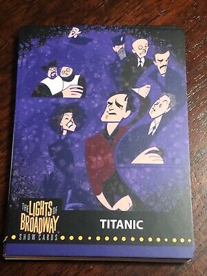 Lights of Broadway Titanic Card From The 2019 Series
