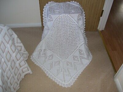New Hand Knitted Baby Shawl