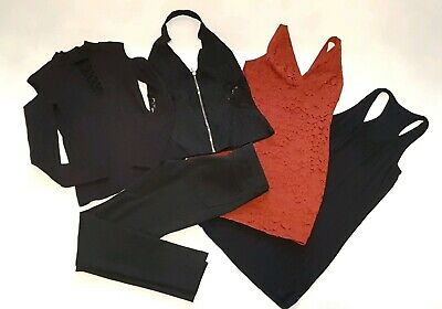Large Bundle Size 10 M trousers, dress and tops - Teenager - Ladies 5 items.