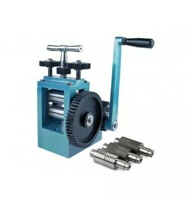 New - Cooksons Jewellers Mini Rolling Mill with 5 Rollers