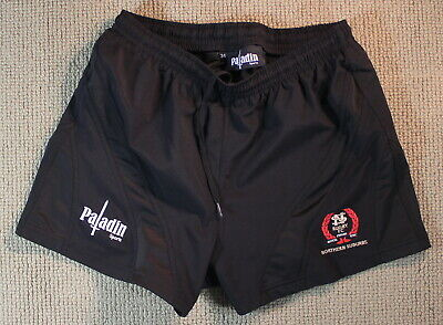 Northern Suburbs Player Issue Rugby Shorts Size 34 Mens Football Wallabies