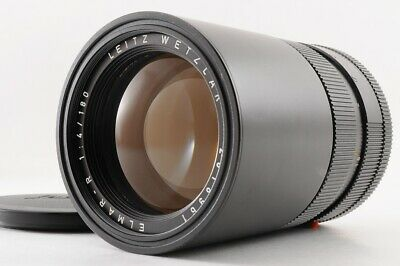 【Near Mint】LEICA LEITZ WETZLAR ELMAR-R 180mm F/4 1:4.0 3 Cam MF Lens From JAPAN