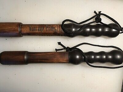 Fisherman's Priest Game Stained Ebony Lead Weighted Head Made In the U.K