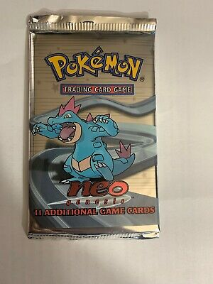Pokemon NEO Genesis Booster Pack Unlimited - Factory Sealed - Unweighted