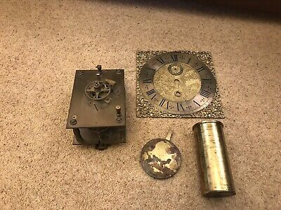 Antique ? Vintage ? Old Brass Clock Mechanism