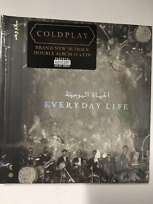 Coldplay Everyday Life CD Double Album Brand New & Sealed November 2019
