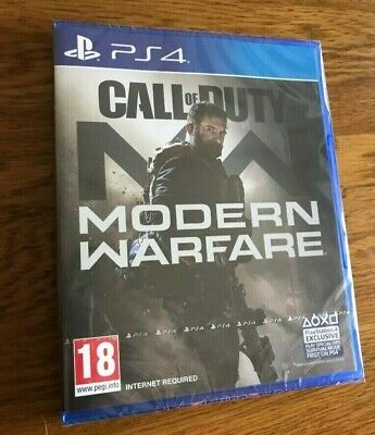 Call of duty modern warfare PS4 2019 NEW and Sealed