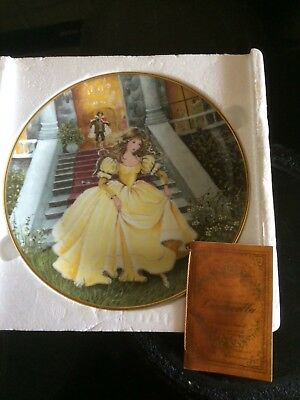 Kaiser Germany Cinderella Collector Plate & Certifificate
