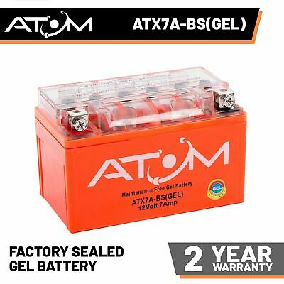 Lexmoto FMS 125  ZN125T-7H  YTX7A-BS Battery brand new