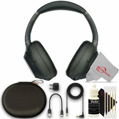 Sony WH-1000XM3 Wireless Noise-Canceling Over-Ear + Alexa Voice Headphone Bundle