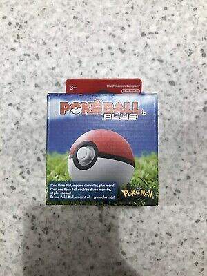Nintendo Poke Ball Plus for Nintendo Switch NEW WITH MEW INCLUDED IN HAND